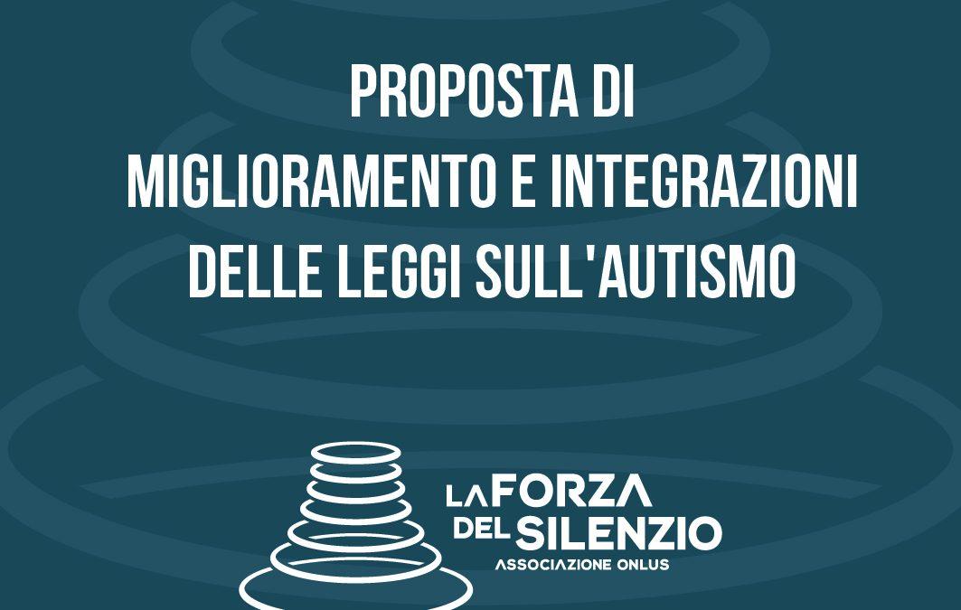 Proposta di Miglioramento e Integrazioni delle Leggi sull'Autismo