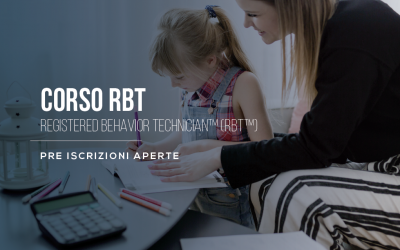 Corso RBT per diventare tecnici del comportamento