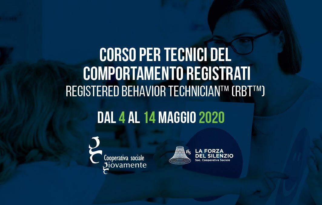 Corso per Tecnici del Comportamento RBT™